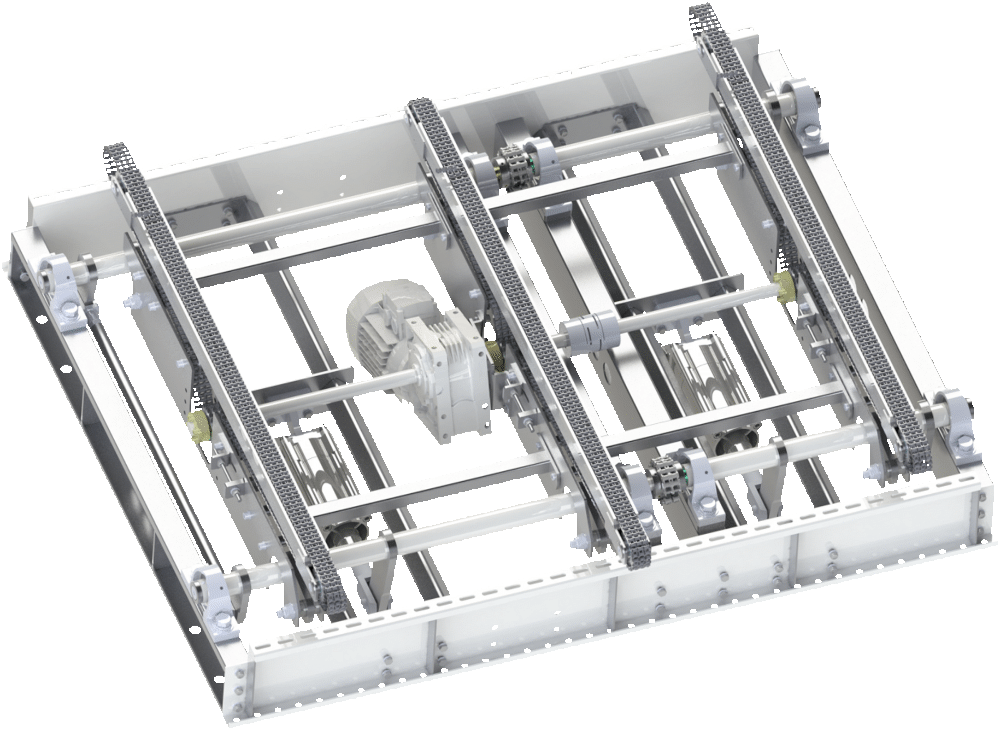 chain conveyor transfer - PRODUCT HANDLING UNITS