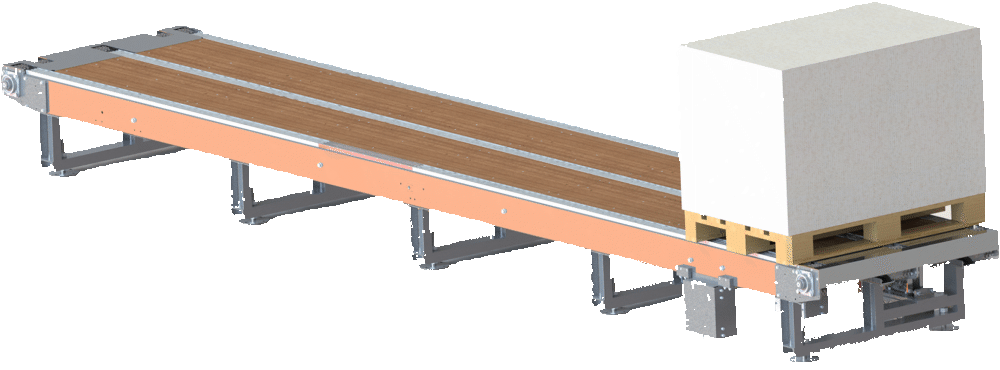 pallet chain conveyor 1 - Pallet Chain Conveyor