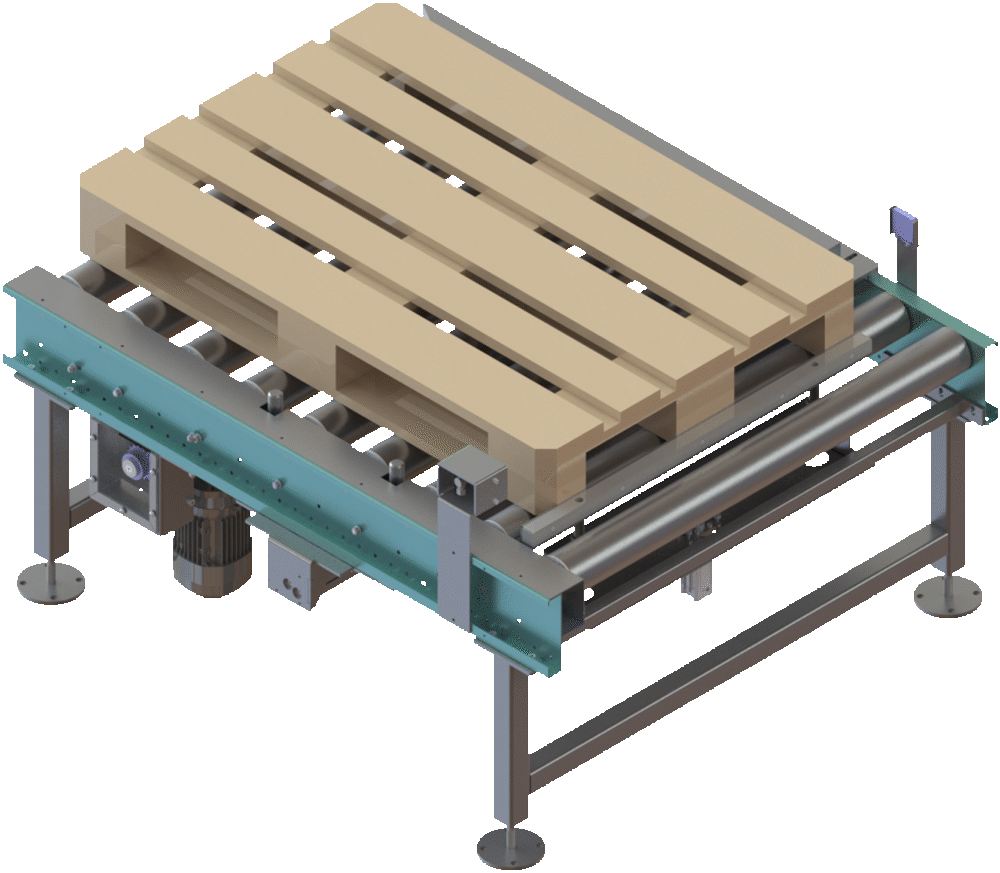 pallet side aligner unit - Pallet Conveying & Handing Solutions