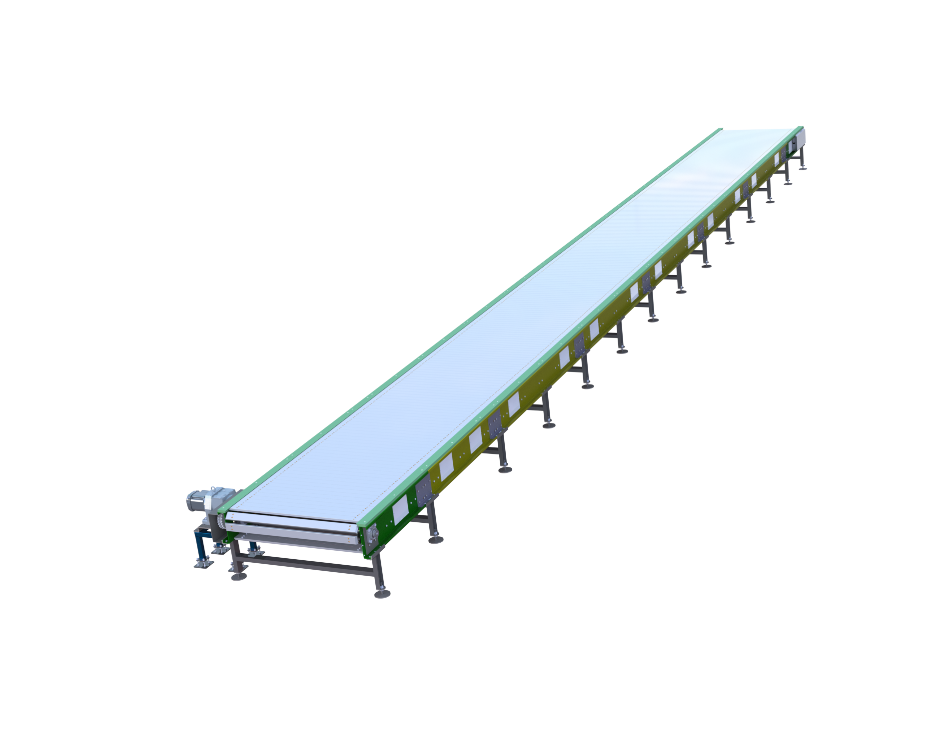 Palet Conveyor - Slat Conveyor